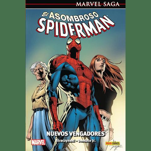 Marvel Saga N° 8 El Asombroso Spiderman Nuevos Vengadores