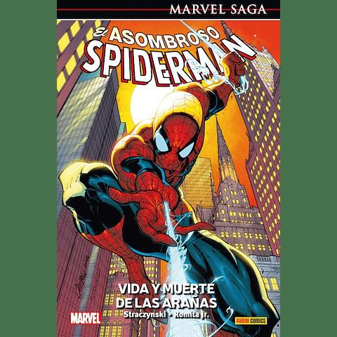 Marvel Saga N° 3 El Asombroso Spiderman Vida y Muerte de Las Arañas
