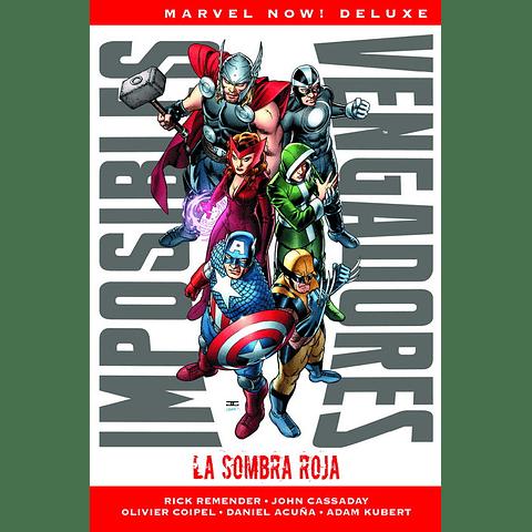 Marvel Now! Deluxe N° 1 Imposibles Vengadores La Sombra Roja