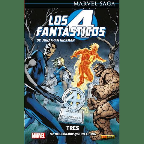 Marvel Saga Vol. 3 Los Cuatro Fantásticos: Tres