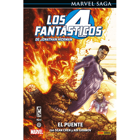 Marvel Saga Vol. 1 Los Cuatro Fantásticos: El Puente