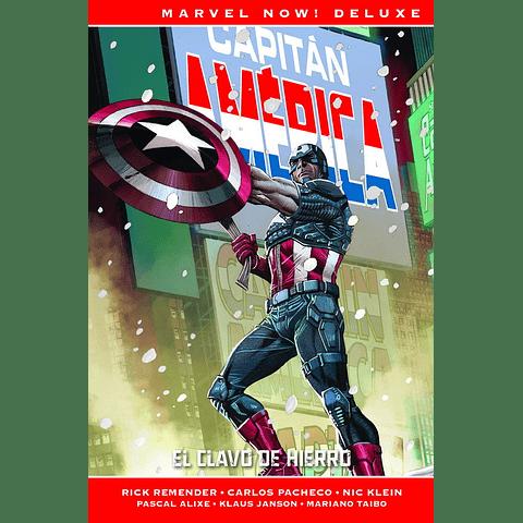 Marvel Now! Deluxe Vol. 2 Capitán América El Clavo de Hierro