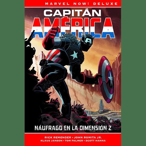Marvel Now! Deluxe Vol. 1 Capitán América Naúfrago En La Dimension Z