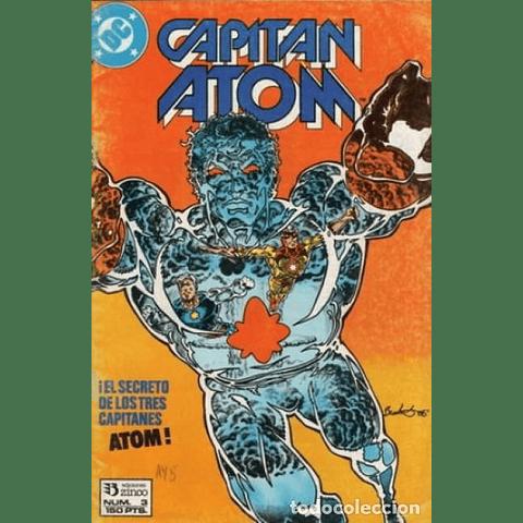 Capitán Atom #3  Editorial Zinco
