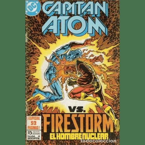 Capitán Atom #4 Editorial Zinco