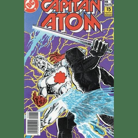 Capitán Atom #5 Editorial Zinco