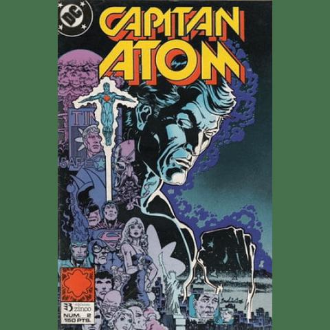 Capitán Atom #2  Editorial Zinco