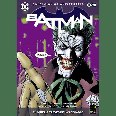 Colección 80 Aniversario Batman: El Joker a Través de Las Décadas