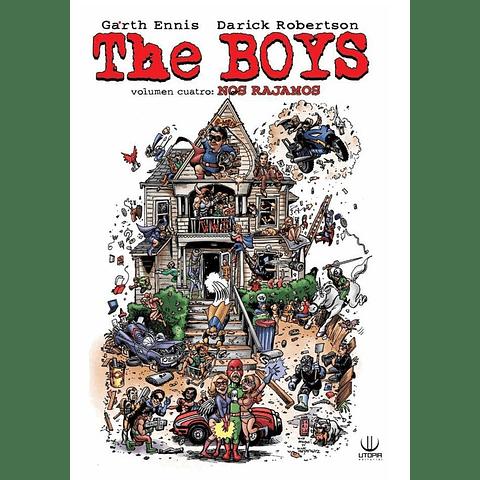 The Boys Volumen 4: Nos Rajamos