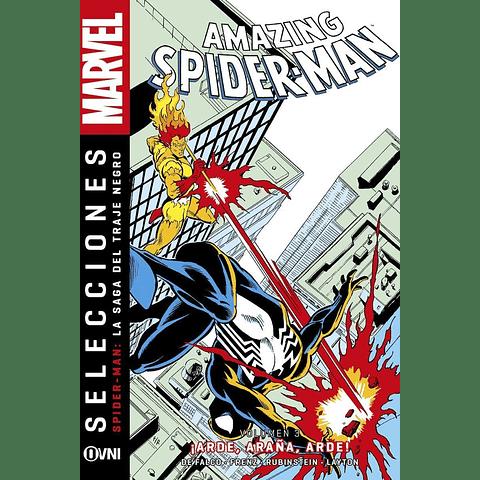 Amazing Spiderman: La Saga del Traje Negro Vol. 3 ¡Arde, Araña, Arde!