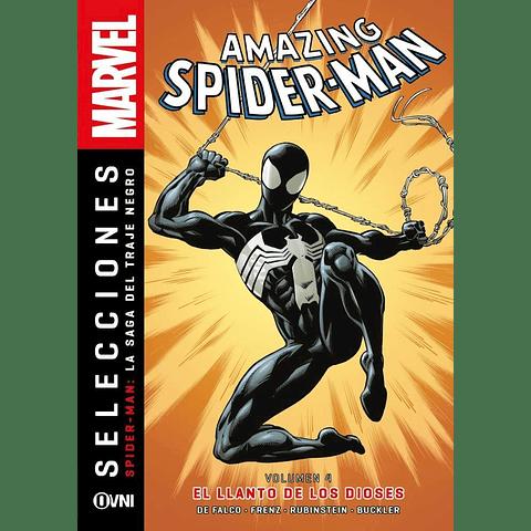 Amazing Spiderman: La Saga del Traje Negro Vol. 4 El Llanto de Los Dioses