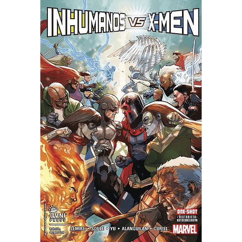 Inhumanos vs X-Men