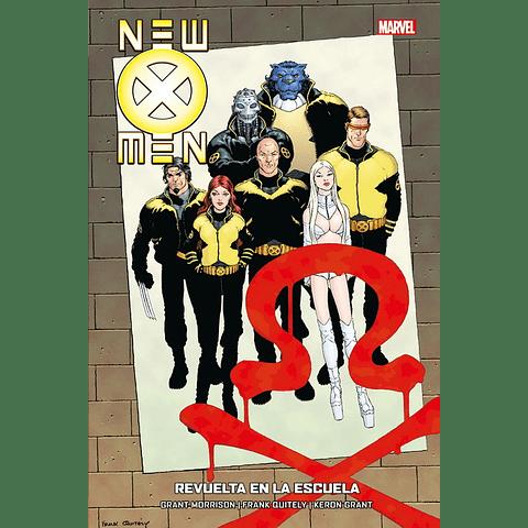 New X-Men #4 Revuelta En La Escuela