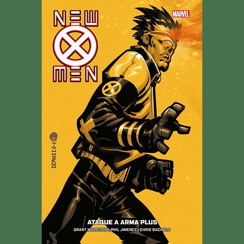New X-Men #5 Ataque a Arma Plus