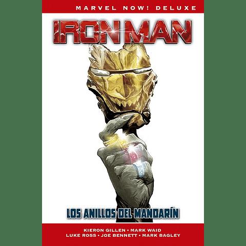 Marvel Now! Deluxe Vol. 3 Ironman Los Anillos del Mandarín