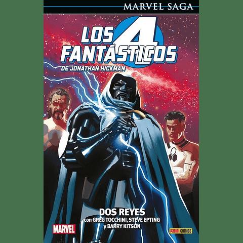 Marvel Saga Vol. 5 Los Cuatro Fantásticos: Dos Reyes