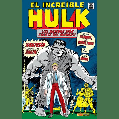 Omnigold El Increible Hulk Tomo 1