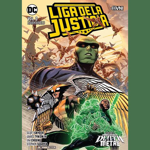 Liga de La Justicia Vol. 3 Hawkworld