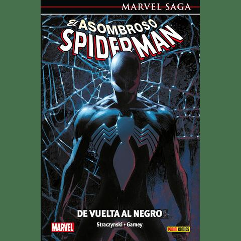Marvel Saga N° 12 El Asombroso Spiderman De Vuelta Al Negro