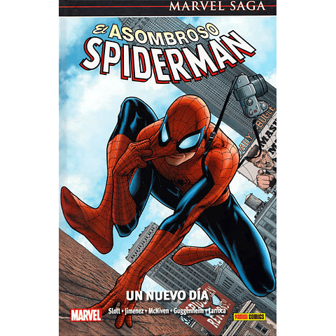 Marvel Saga N° 14 El Asombroso Spiderman Un Nuevo Día
