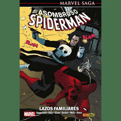 Marvel Saga N° 18 El Asombroso Spiderman Lazos Familiares