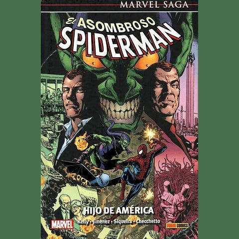 Marvel Saga N° 22 El Asombroso Spiderman Hijo de America