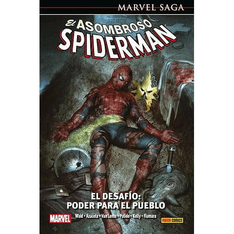 Marvel Saga N° 25 El Asombroso Spiderman El Desafío: Poder Para el Pueblo