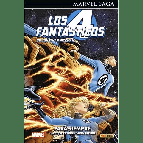 Marvel Saga Vol. 6 Los Cuatro Fantásticos: Para Siempre