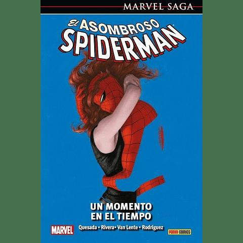 Marvel Saga N° 29 El Asombroso Spiderman Un Momento En El Tiempo