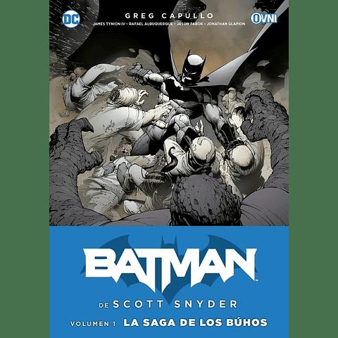 Batman La Saga De Los Búhos