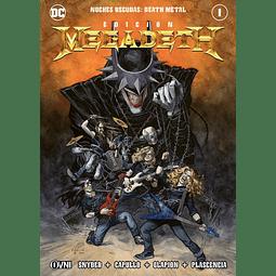 Noches Oscuras Death Metal Portada Alternativa Edición Megadeth