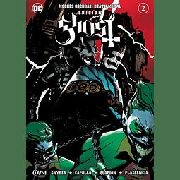 Noches Oscuras Death Metal Portada Alternativa Edición Ghost