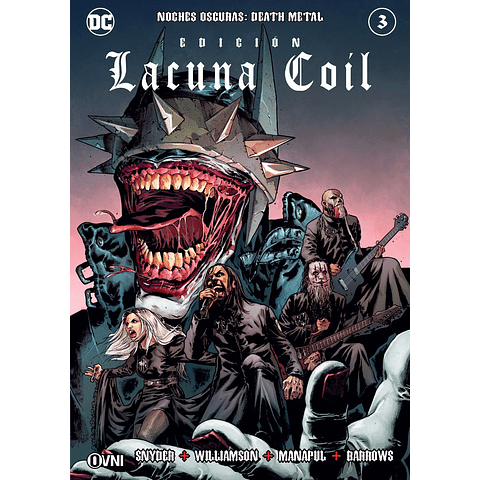 Noches Oscuras Death Metal Portada Alternativa Edición Lacuna Coil