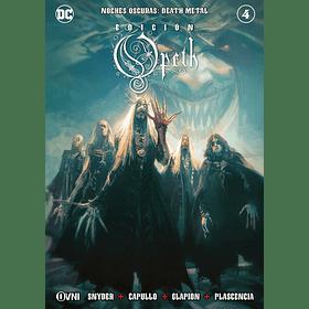 Noches Oscuras Death Metal Portada Alternativa Edición Opeth