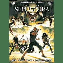 Noches Oscuras Death Metal Portada Alternativa Edición Sepultura