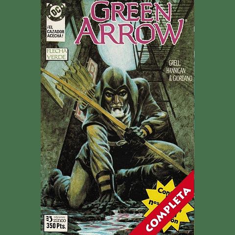 Green Arrow El Cazador Acecha