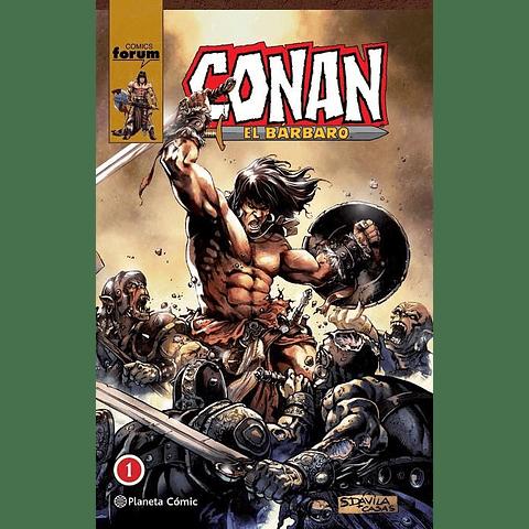 Conan El Bárbaro Integral Tomo 1