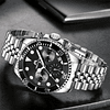 Reloj Megalith Black Submariner