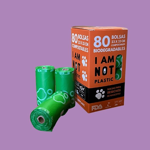 Bolsas Para Desechos De Mascotas