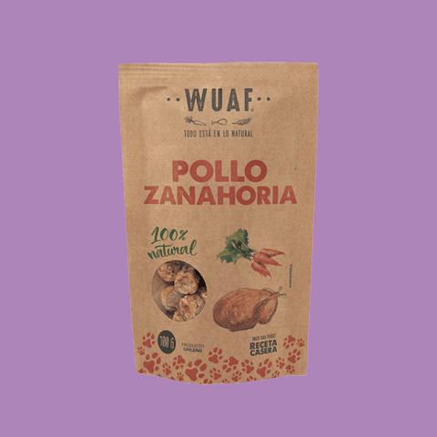 Snack Wuaf Pollo Zanahoria 100gr