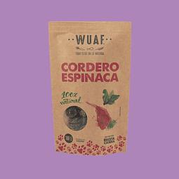 Snack Wuaf Cordero Espinaca 100gr