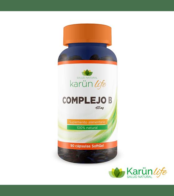 Complejo B 90 cápsulas + Biotina   Karun Life