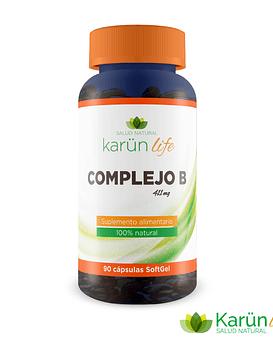 Complejo B 90 cápsulas + Biotina | Karun Life