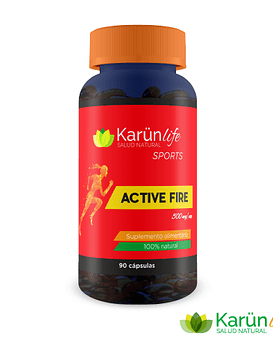 Active Fire  90 Cápsulas  500 Mg
