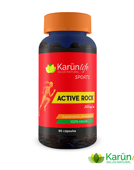 Active Rock  90 Cápsulas  500mg