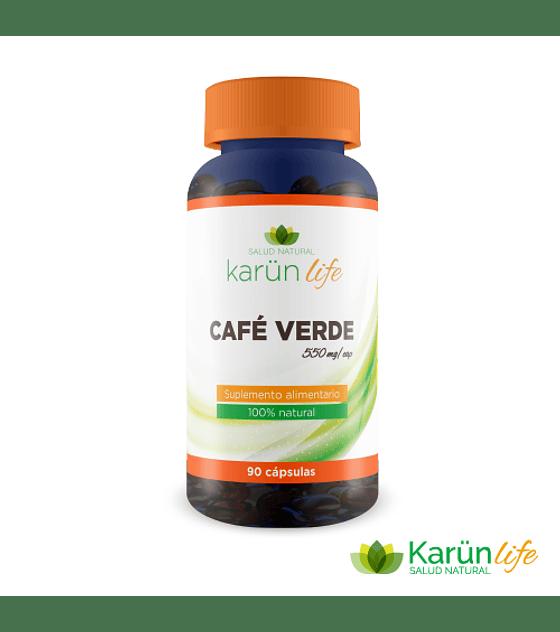 Café Verde  90 Cápsulas  550 Mg