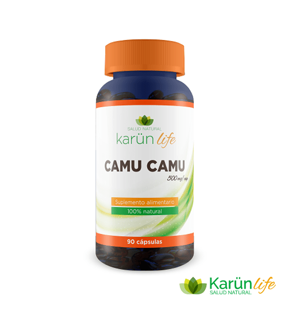 Camu Camu 90 Capsulas 500 Mg