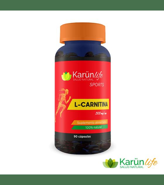 L-Carnitina  90 Cápsulas  500 Mg