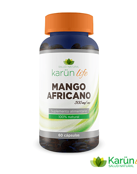 Mango Africano  60 Cápsulas 500 Mg