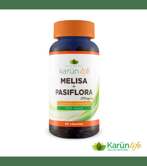 Melisa+Pasiflora 90 Cápsulas  550 Mg
